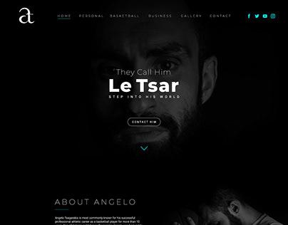 Angelo Tsagarakis (Website Design)