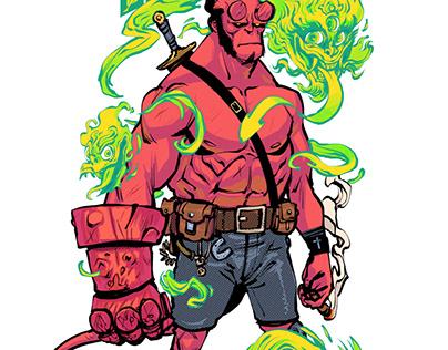 Hellboy and The Spirit of Kusamba