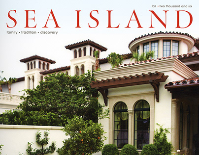 Sea Island magazine Design | Art Direction
