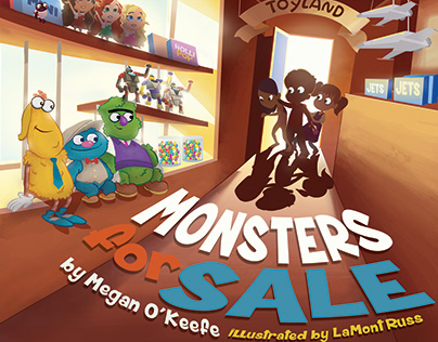 Monsters for Sale - Children's Book