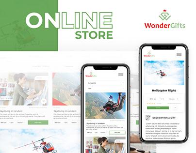 Online store | Интернет магазин Wonder Gift