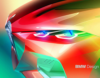 BMW Concept 4 (09/19) _ Design Sketches