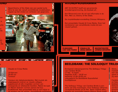Art In Output 2003: Lost And Found website