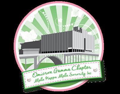 Omicron Gamma New Logo and Social Media