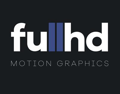 fullhd motion graphics reel