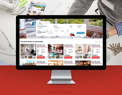 Adriatika — UI design