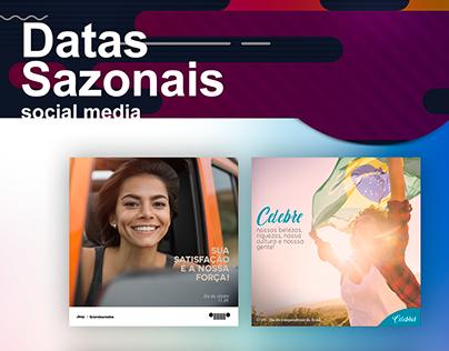 DATAS SAZONAIS - SOCIAL MEDIA