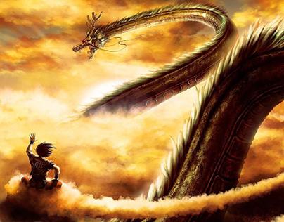 SHENRON :: Dragon Ball Poster O1