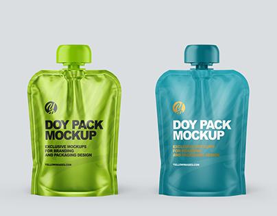 Doy Packs Mockups PSD 5k