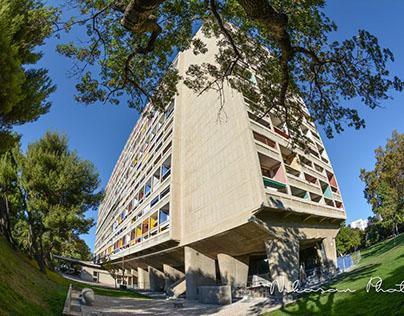 Unité d'habitation du Corbusier