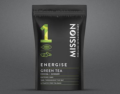 Mission Tea Packaging & Branding