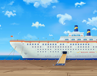 Banana Jewel Cruize Ship