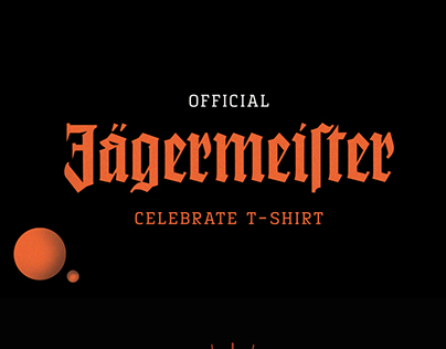 Official Jagermeister Celebrate T-shirt