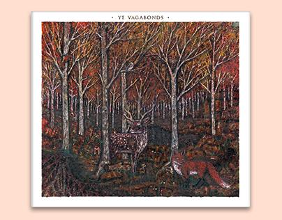 Ye Vagabonds Album Design