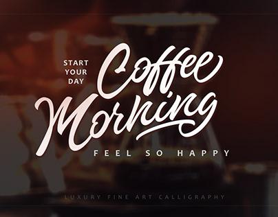 Coffee Morning - brand