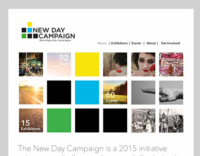New Day Campaign Web Page Compositions