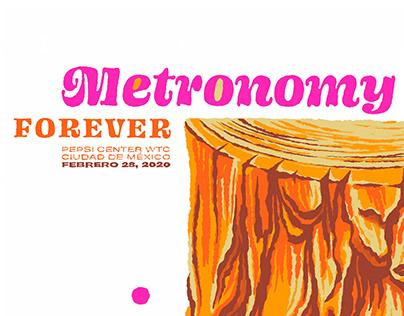 METRONOMY Gig Poster