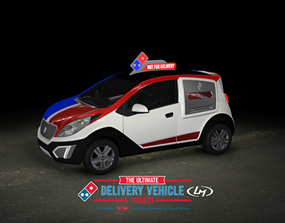 Dominos Ultimate Delivery Vehicle (DXP) Final Design