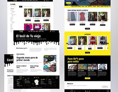 DISEÑO WEB: EL BAÚL DE TU VIEJA