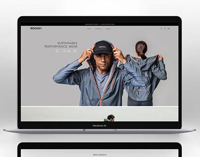 Rockay Running corporate website