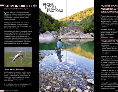 Saumon du Québec (dépliant)