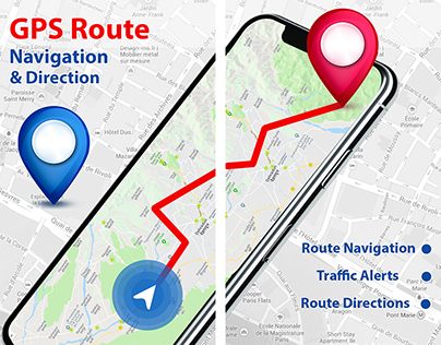 Gps Route Navigation & Direction