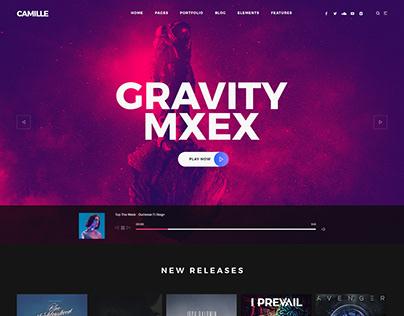 Camille - Creative Music Theme