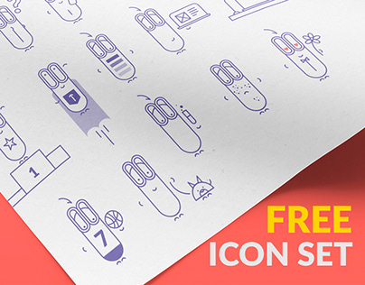 Free Icon Set | 36 | EPS
