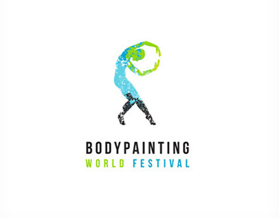 Body Painting Festival Logo Design