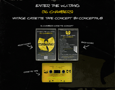 WU-TANG: 36 CHAMBERS- VINTAGE CASSETTE