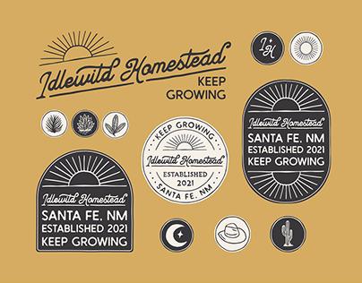 Branding for Idlewild Homestead