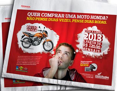 Campanha Promocional - Duas Rodas Motos Honda