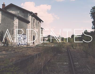 ARDENTES Gare abandonnée