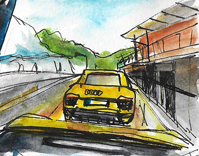 Storyboard: Audi driving experience