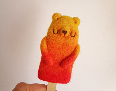 Popsicle Bear - Tequila Sunrise