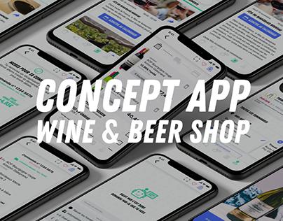 Concept App - Wine & Beer