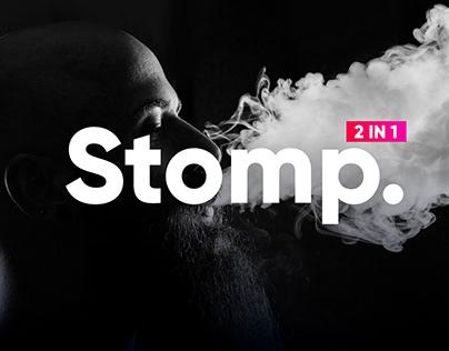 Typography Stomp Intro