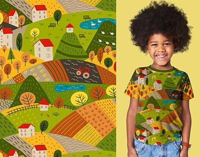 Autumn Hills - Kid's Apparel