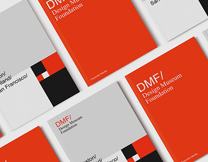 Concept identity for Design Museum Foundation