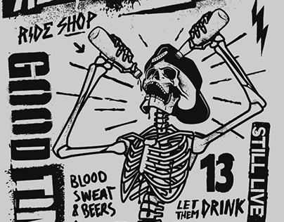 Active RideShop x Rowdy's Brew Co.