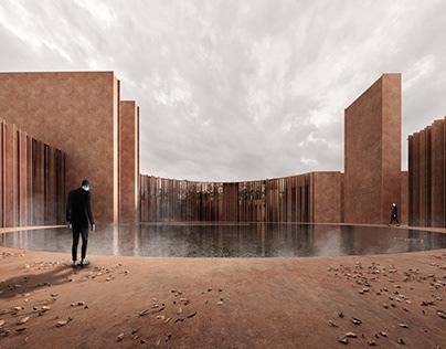 Architecture concept of Crematorium