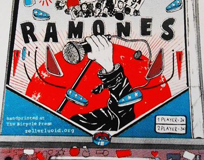 CBGB - Ramones / Pinball Artprint