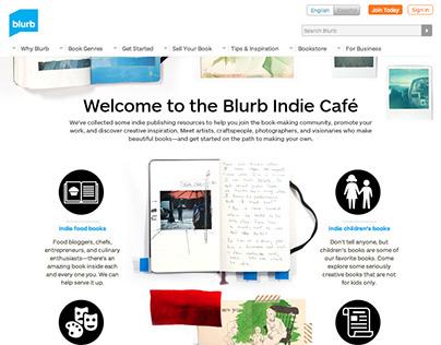 Blurb I Site Redesign