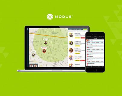 Modus | GPS based app development