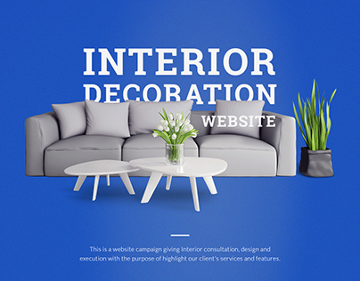 Interior Decoration Website