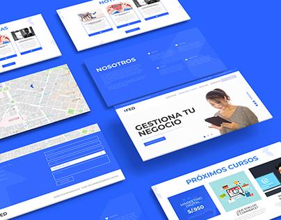 FED - Foro de Emprendedores / Web, Branding, Papelería
