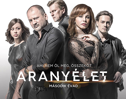 HBO - Aranyélet 2. /Goldenlife KeyArt,Characters,Poster