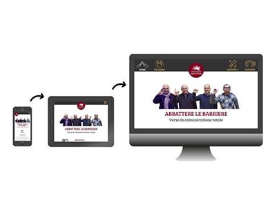 Associazione Segni & Parole | Responsive web redesign