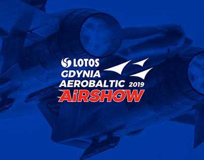 LOTOS Gdynia Aerobaltic 2019 // Event Branding