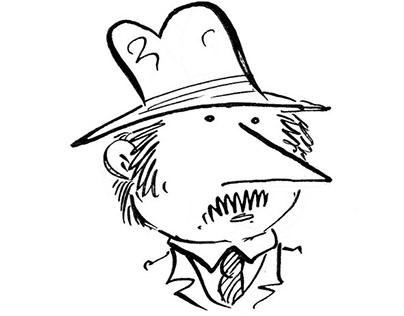 Puzzle comic - Inspector Varga